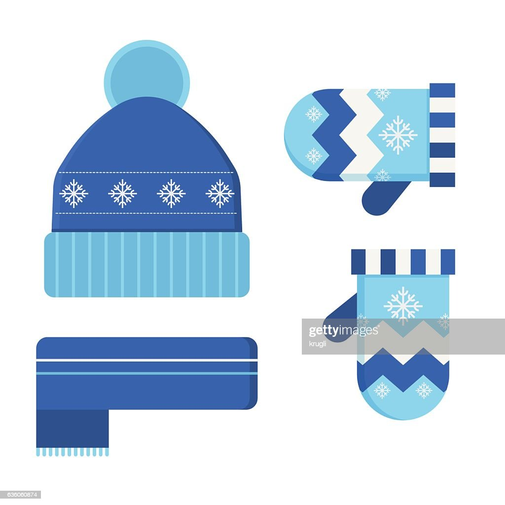 Winter Hat and Scarf