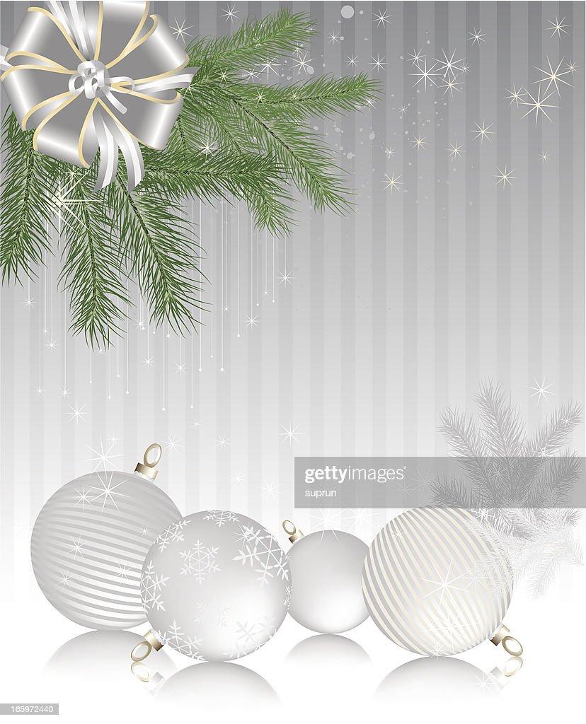 Winter Holiday Background Vertical Vector Art
