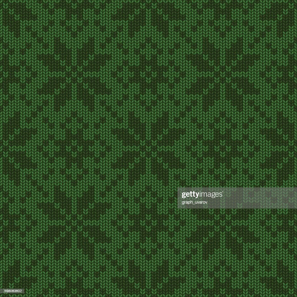 Winter Holiday knitted seamless pattern