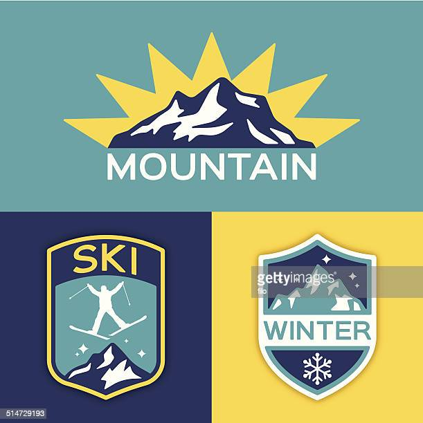 Winter Mountain Ski
