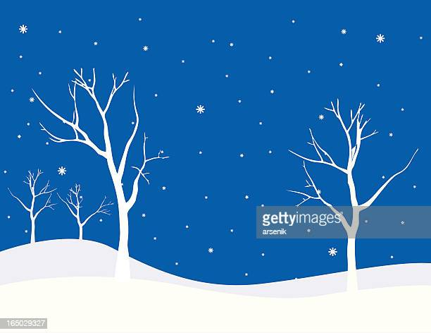 Winter scène