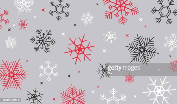 冬の雪背景 - クリスマスマーケット点のイラスト素材/クリップアート素材/マンガ素材/アイコン素材
