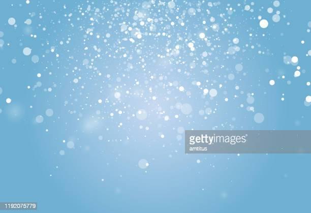 winter snow burst - snow stock illustrations