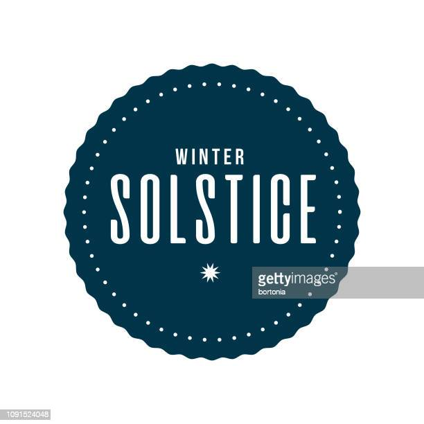 winter solstice - winter solstice stock illustrations