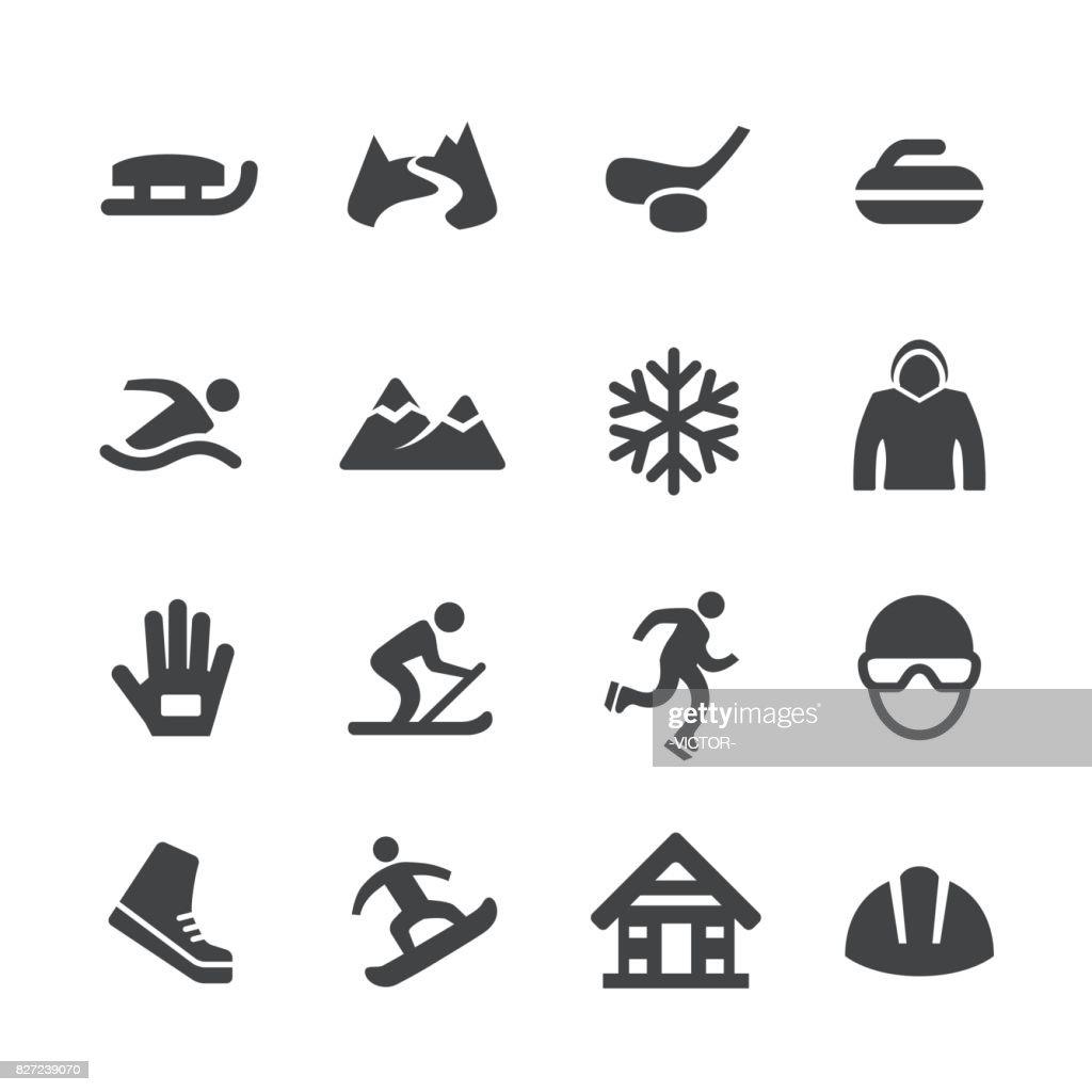 Winter Sport Icons - Acme Series