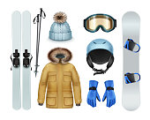 Winter sports stuff