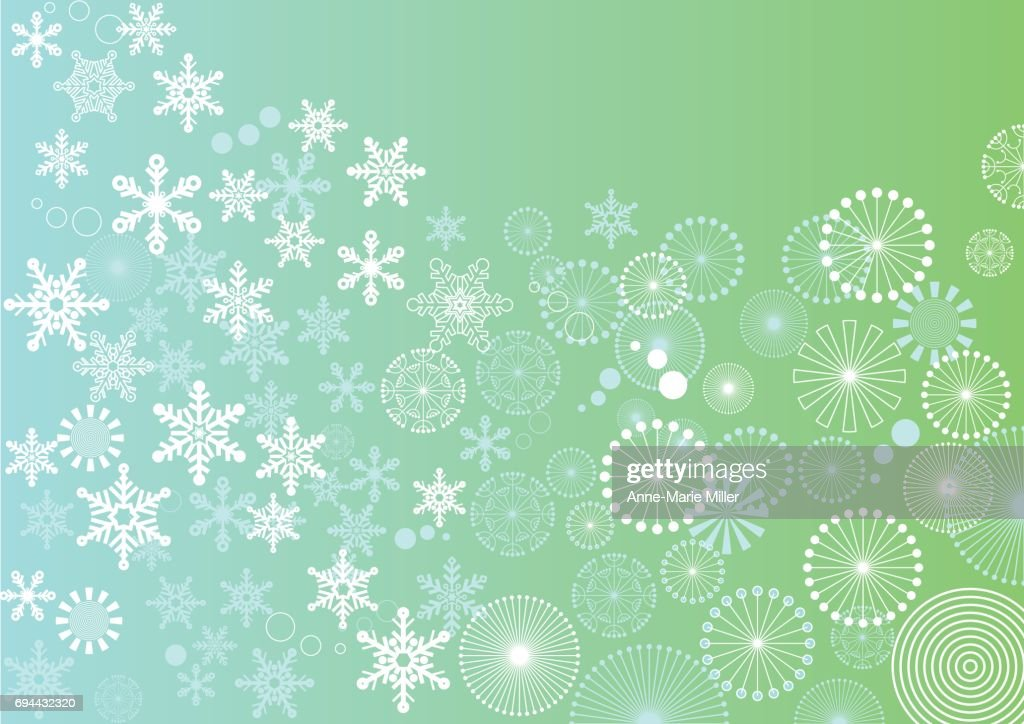 Winter to spring background