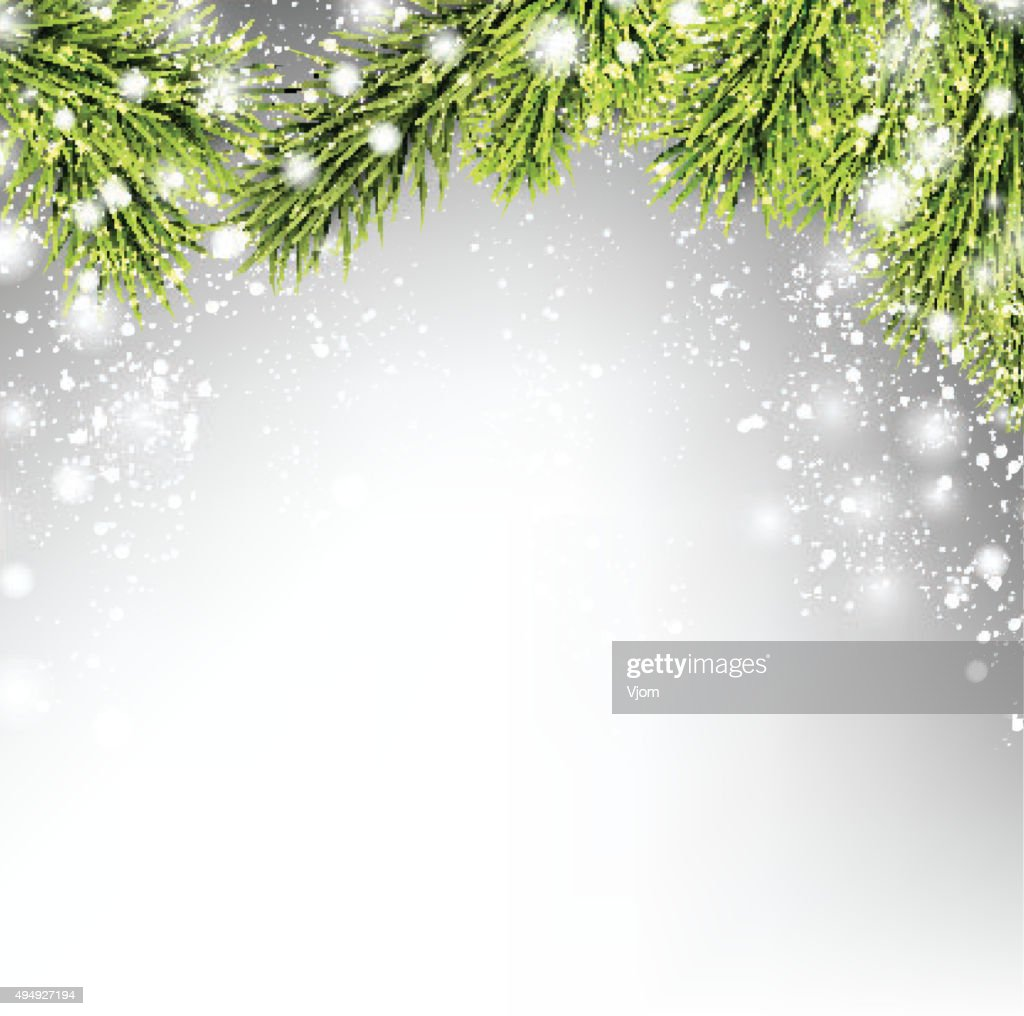 Winter xmas background