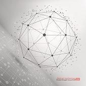 Wire frame mesh polygonal element