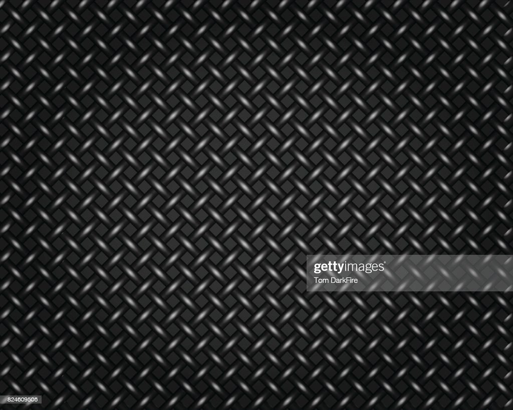 Wire Mesh Fence Matal Pattern Background Illustration Vector Art ...