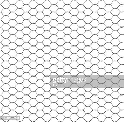 Wire Netting Vector Art   Getty Images