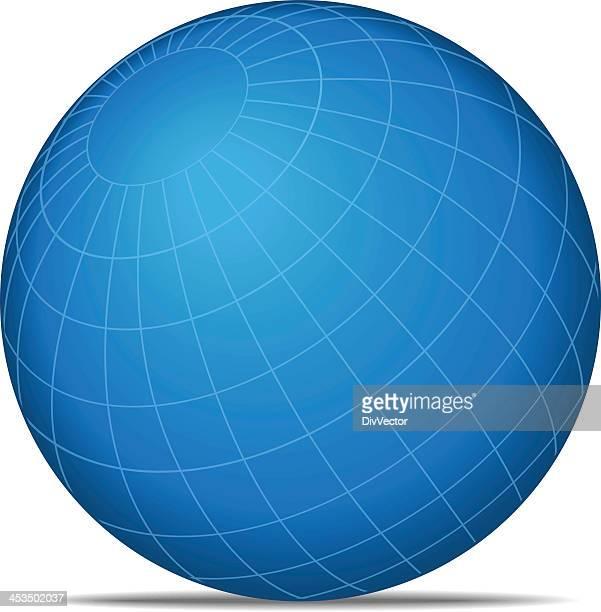 Gitternetzlinien Welt