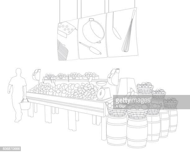 Wireframe Grocery