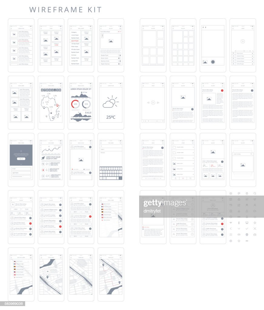 Wireframe Kit