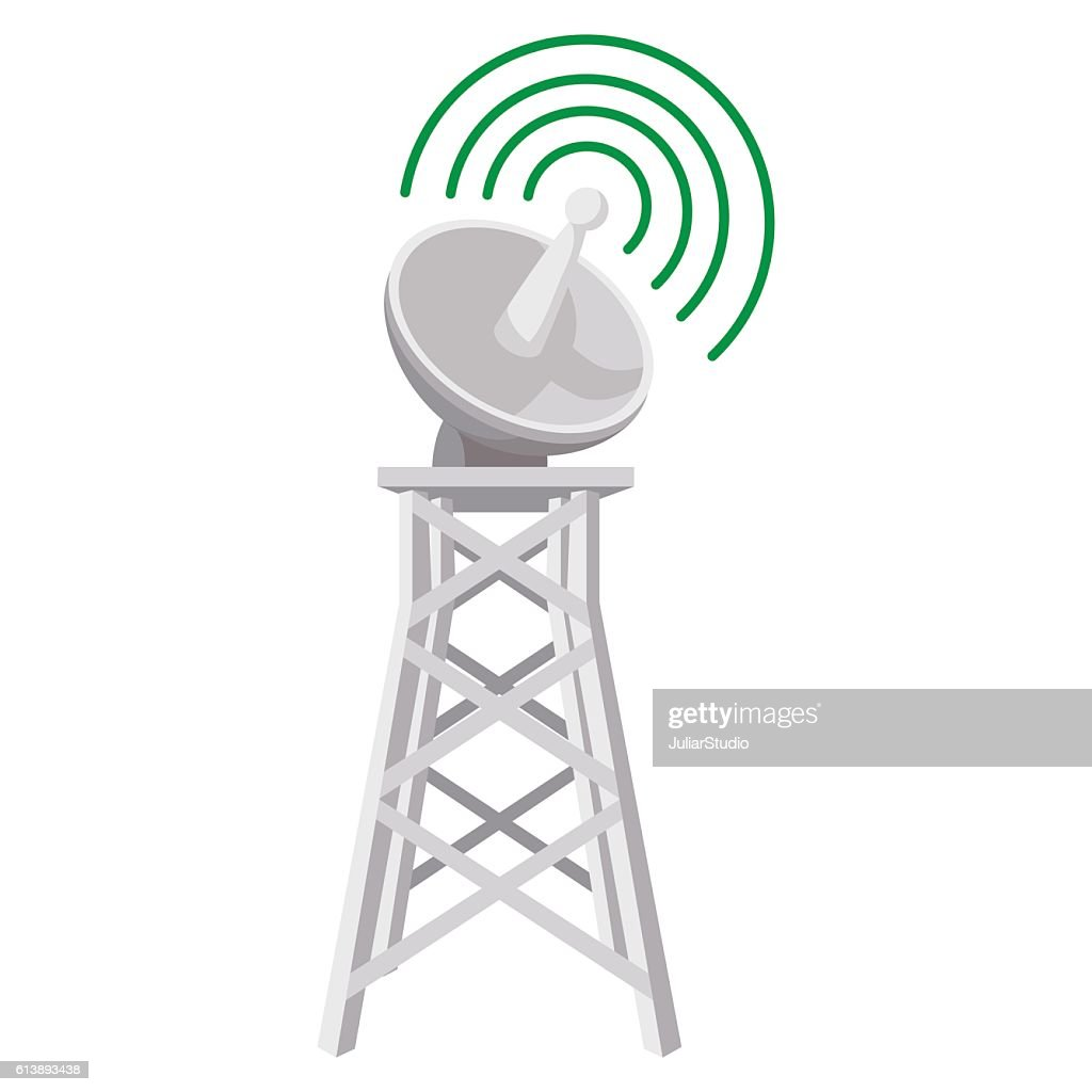 Wireless connection cartoon icon