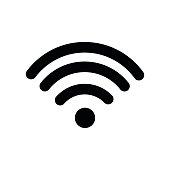 wireless internet signal icon