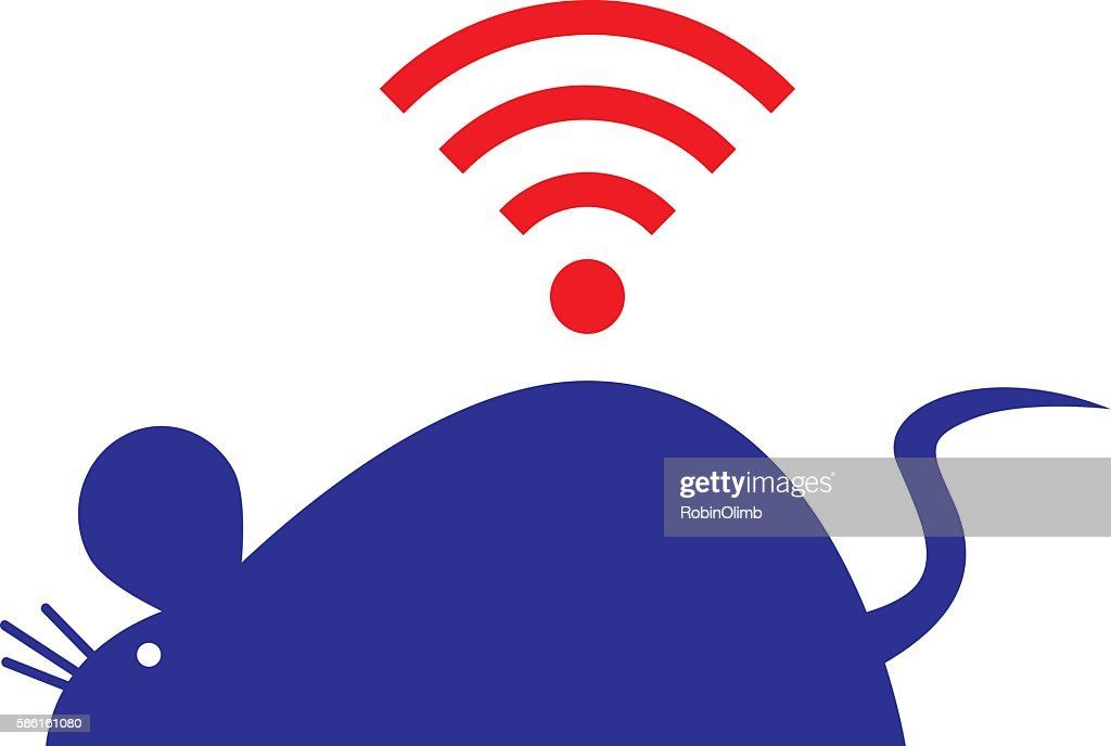Wireless Mouse Icon Vector Art | Getty Images