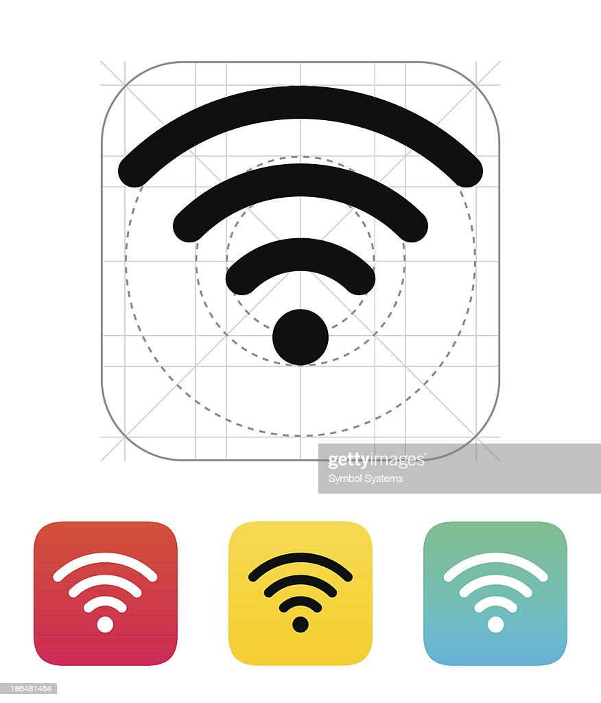 Wireless network icon.