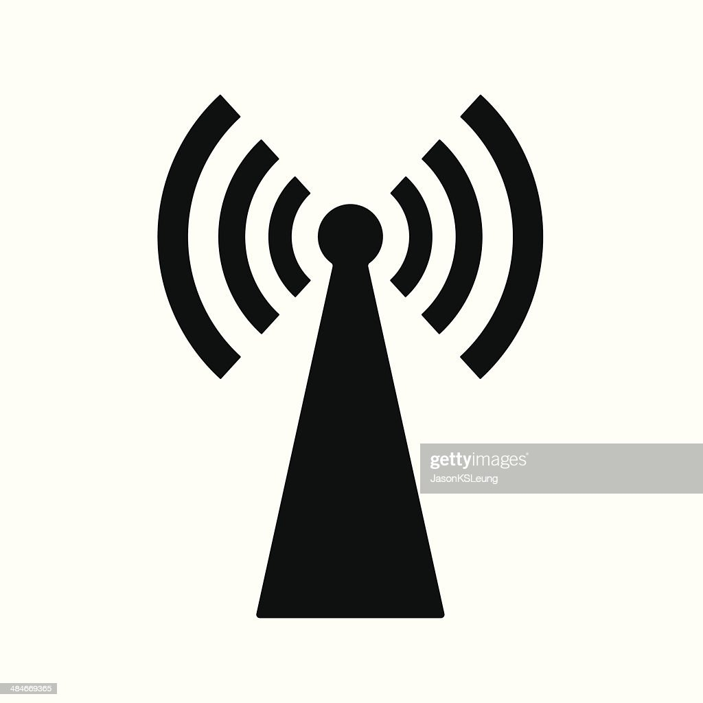 Wireless network sign- Vector