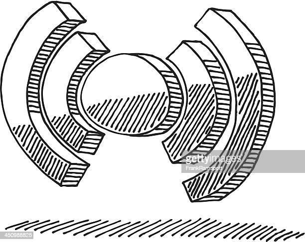 Ohne Ort Symbol Abbildung
