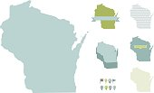 Wisconsin State Maps
