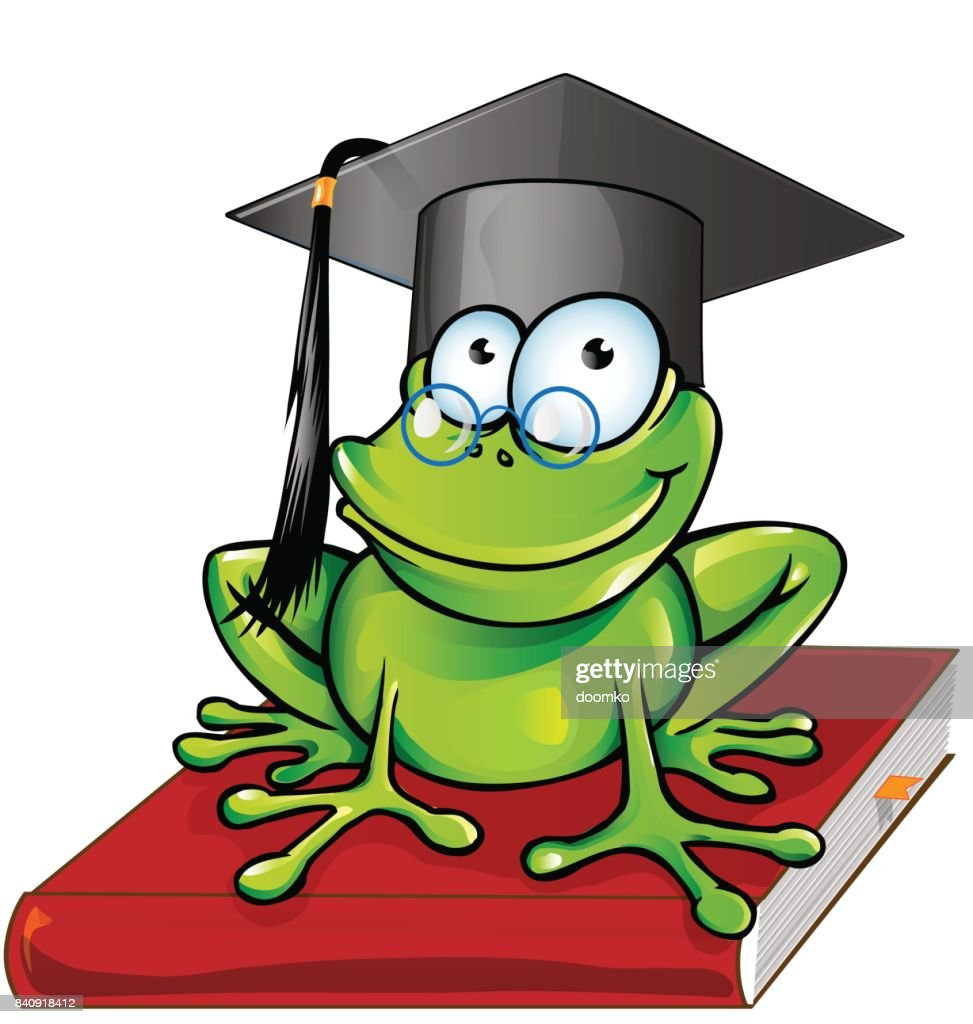Wise Frosch Comic Vektorgrafik Getty Images