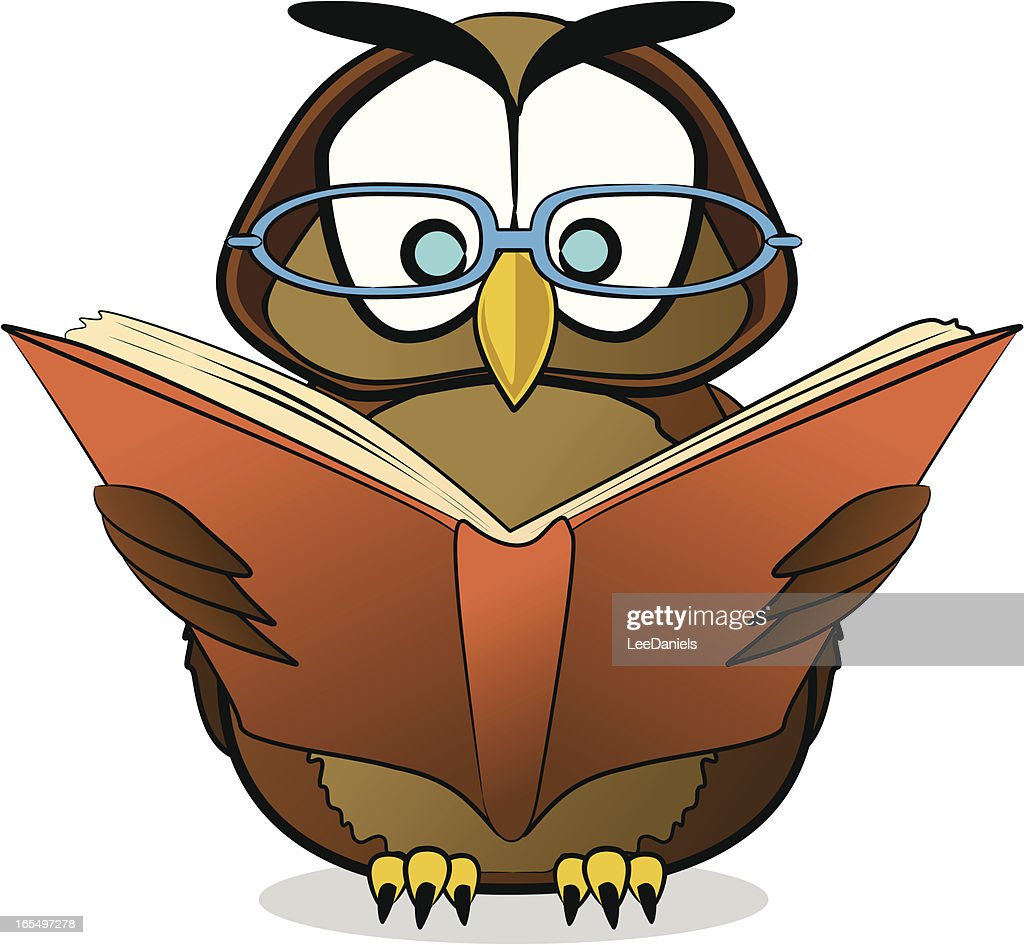 Wise Owl Cartoon High-Res Vector Graphic - Getty Images