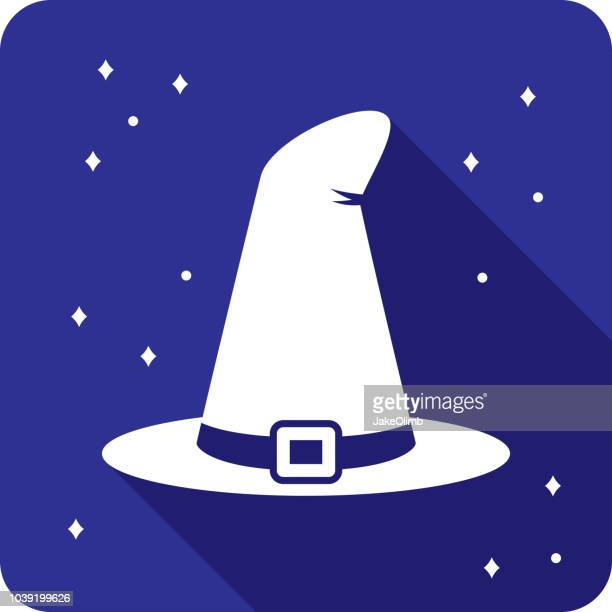 Witch Hat Icon Silhouette