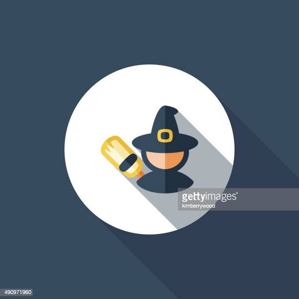 hexe - wizard stock-grafiken, -clipart, -cartoons und -symbole