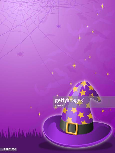 Witches Hat Background