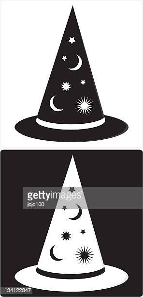 Witches or Wizards Silhouette Hat