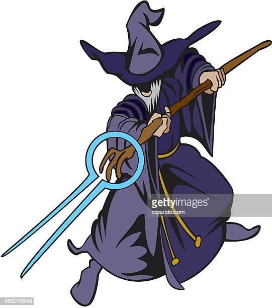wizard - wizard stock illustrations, clip art, cartoons, & icons