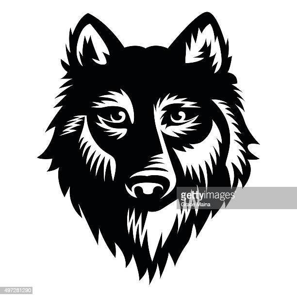 Wolf vector Illustration - VECTOR