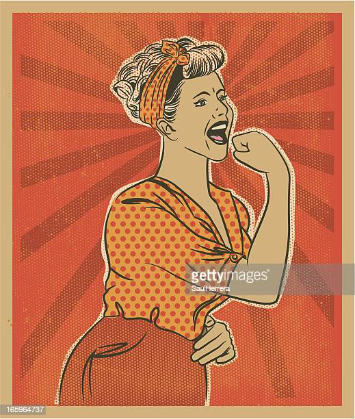woman anger - silk screen stock illustrations, clip art, cartoons, & icons