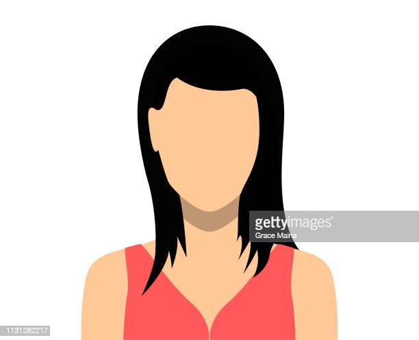 Woman Blank Face Icon