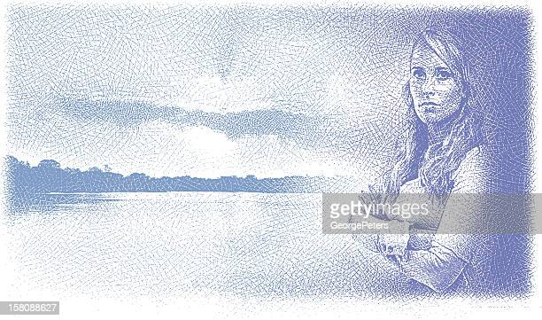 Woman Contemplating Issues