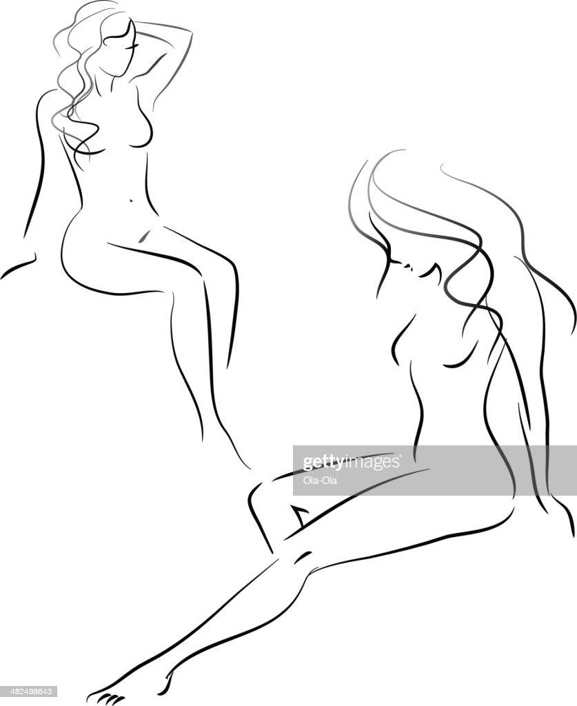Woman figures