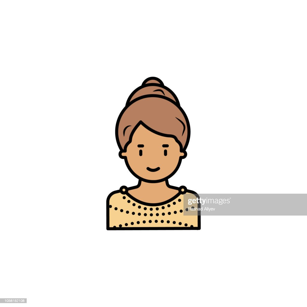 Woman Greece icon. Element of color ancient greece  icon for mobile concept and web apps. Colored Woman Greece icon can be used for web and mobile