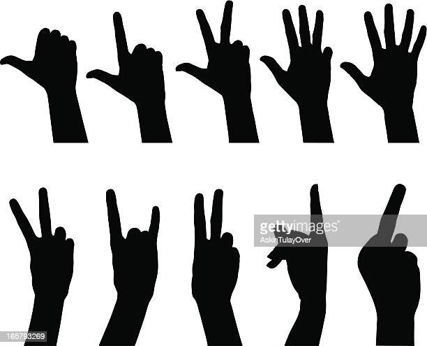 Femme mains