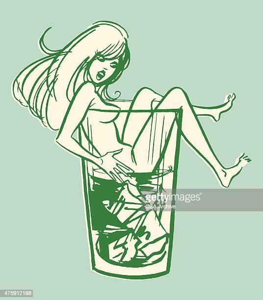 Woman in Drink