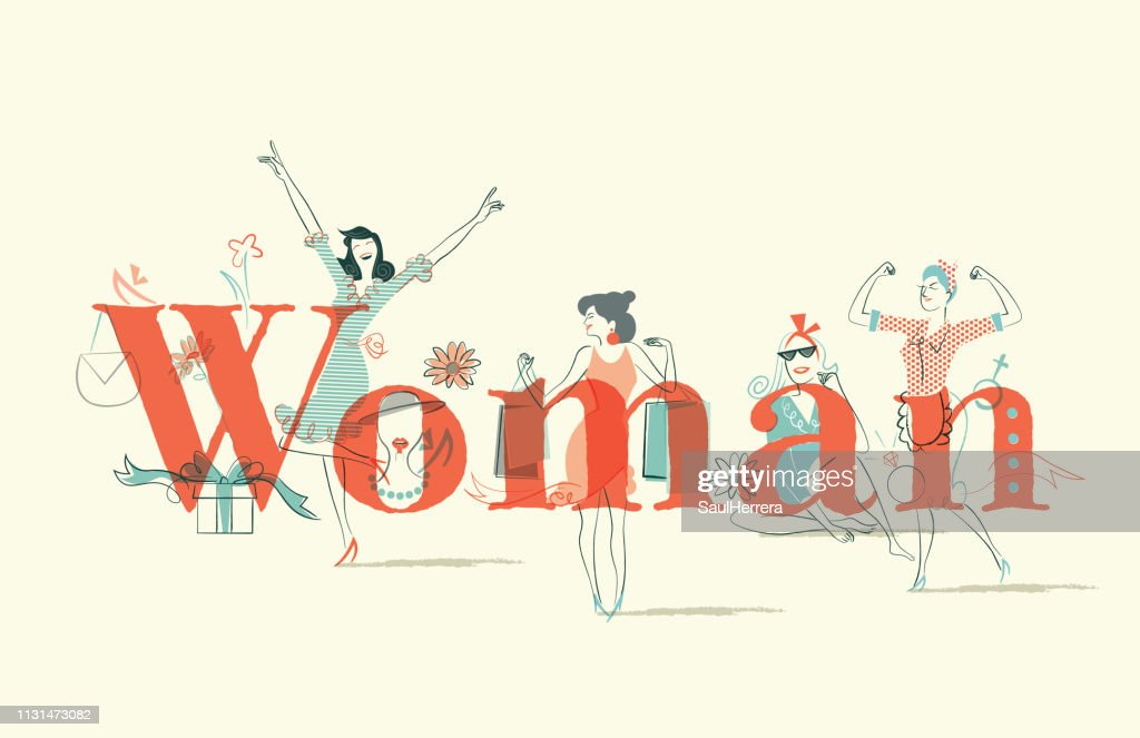 Woman Issues : stock illustration