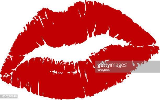 ilustrações, clipart, desenhos animados e ícones de mulher lábios - lábio
