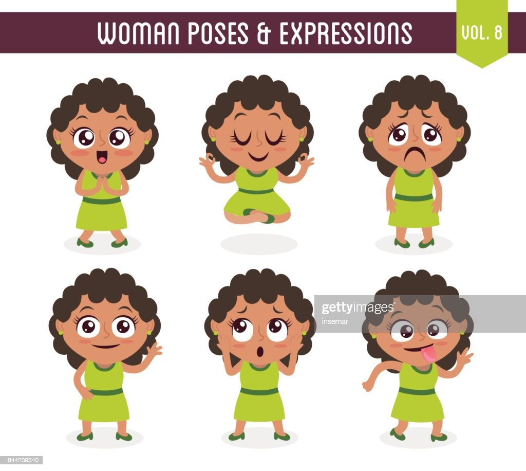 Woman poses and expressions (Vol. 8 / 8)