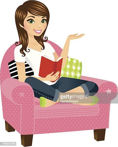Frau lesen