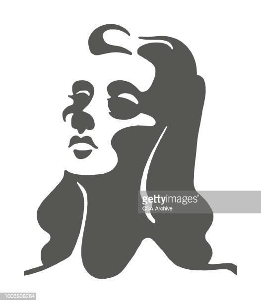 illustrations, cliparts, dessins animés et icônes de femme - femme bcbg