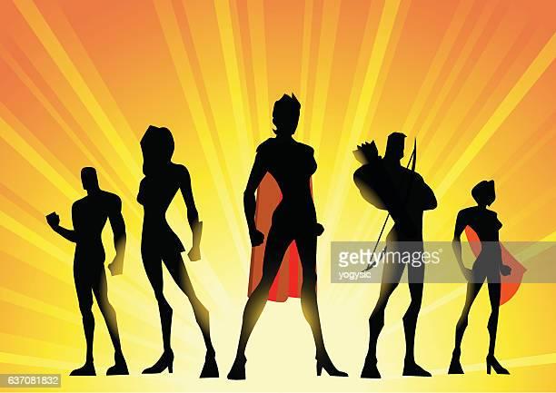 Woman-led Superhero Team