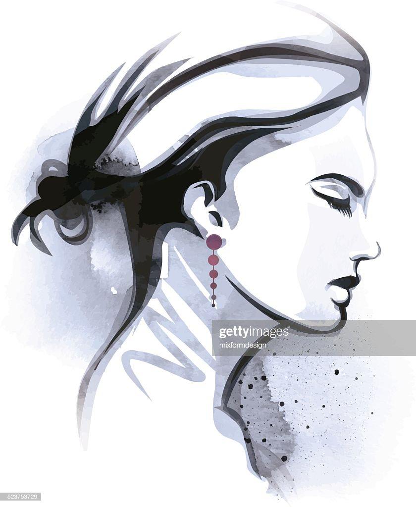 Womans Profile