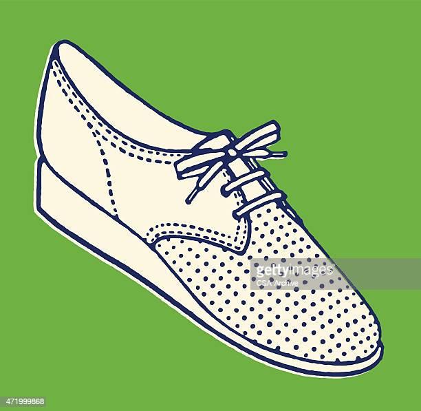 Woman's Tie up Shoe