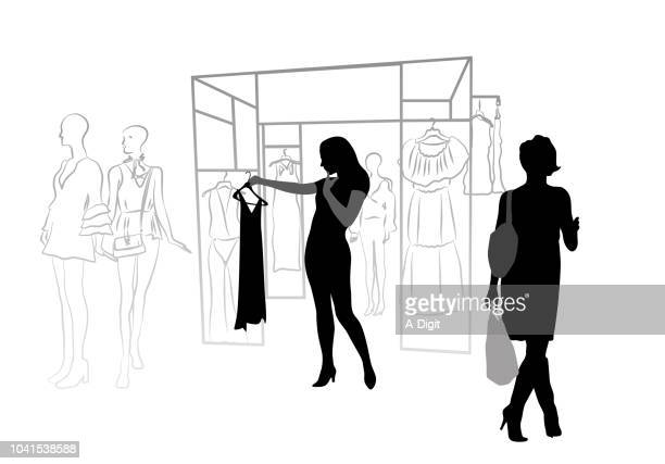 Women Clothes Display Model