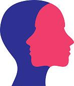 Women Face To Face Icon
